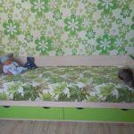 Детская на заказ зелёного цвета