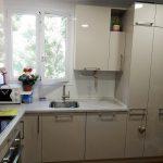 Кухня на заказ Сталь глянец