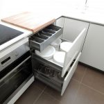 Кухня на заказ Акрил белый