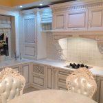 Кухня вашей мечты Белая кухня фото полезные советы материалы характеристика размеры сочетание цветов фото