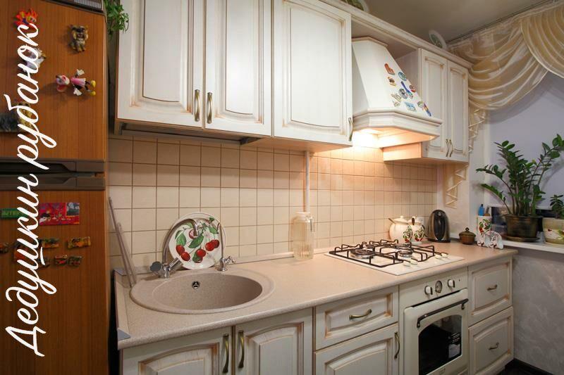 Кухня на заказ 2,7 м Белый ясень