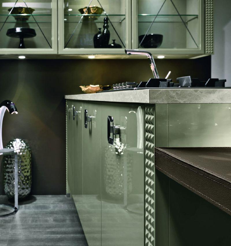 Из каких материалов изготовить кухню Кухня вашей мечты Фасады из Акриловый пластик современные тенденции свежие идеи фото