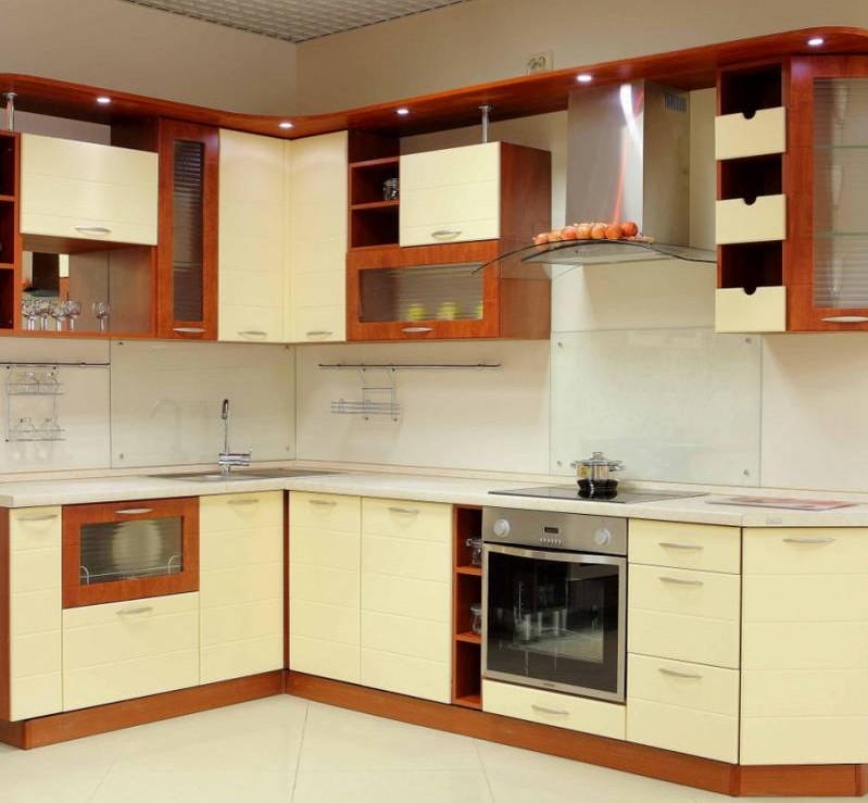 Из каких материалов изготовить кухню Кухня вашей мечты Материал для изготовления фасадов для кухонного гарнитура Фасады из пленочного МДФ фото