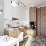Кухня в современном стиле цветовое решение советы профессионалов выбор кухни поэтапно вариант исполнения фото