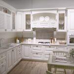 Кухня вашей мечты Белая кухня фото полезные советы материалы характеристика размеры сочетание цветов акценты на белой кухне классическая кухня фото