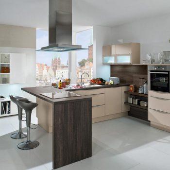 Кухня вашей мечты ТОП-6 планировок для кухни Полуостровная планировка кухни кухня студия варианты исполнения фото