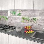 Кухня вашей мечты Фартук для кухни Кухонный фартук из керамической плитки полезные советы материалы характеристика размеры кухонного фартука современная фото