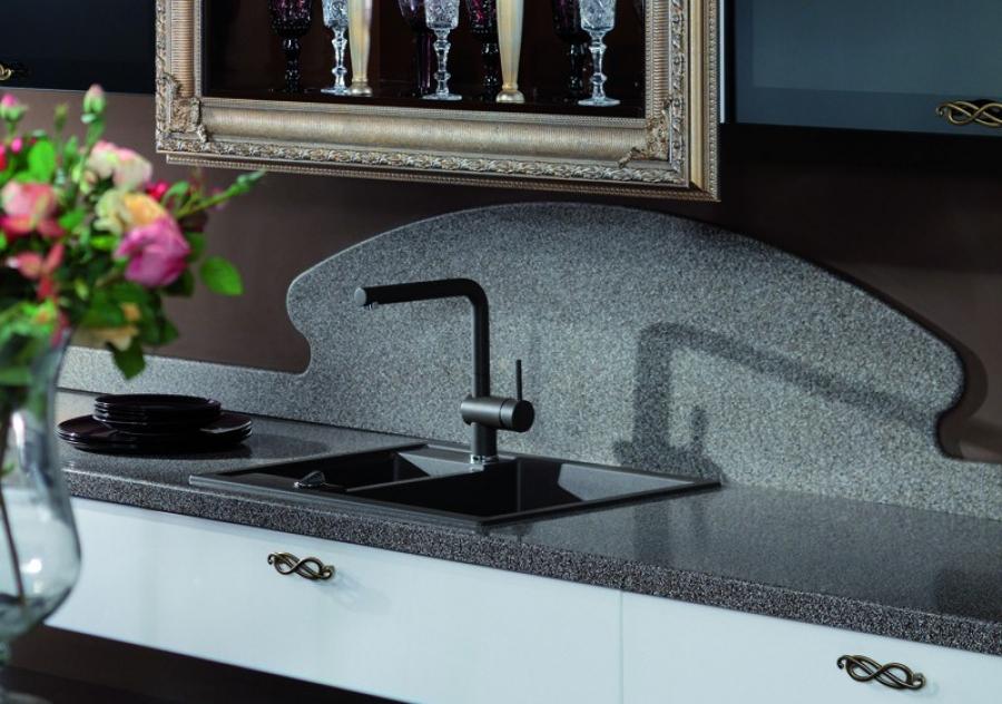 Кухонный фартук из искусственного камня полезные советы варианты исполнения фото