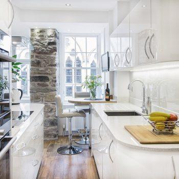 Кухня вашей мечты ТОП-6 планировок для кухни Двухрядная планировка кухни современная кухня варианты исполнения фото
