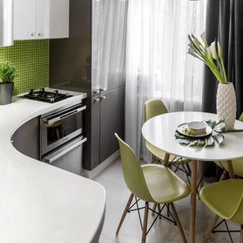 Кухня вашей мечты ТОП-6 планировок для кухни Г-образная планировка кухни маленькая кухня варианты исполнения фото