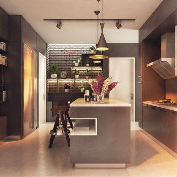 Кухня вашей мечты ТОП-6 планировок для кухни Островная планировка кухни современная кухня варианты исполнения фото