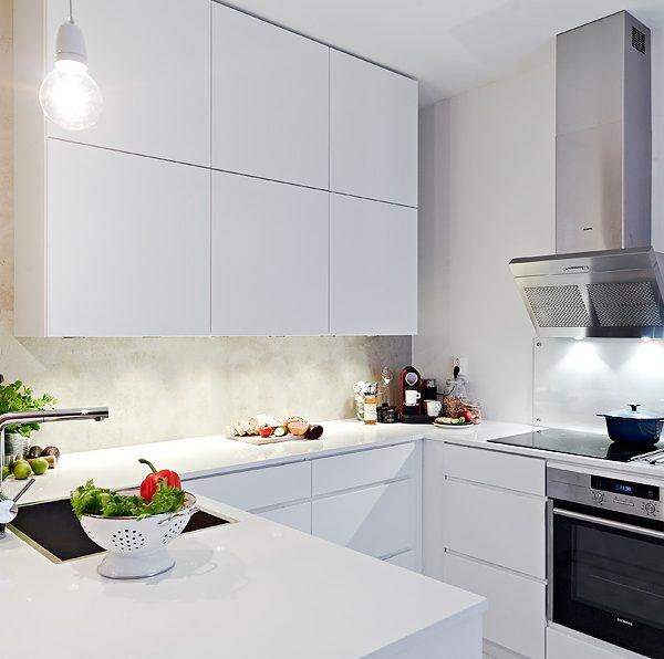 Кухня вашей мечты ТОП-6 планировок для кухни П-образная планировка кухни белая современная кухня варианты исполнения фото