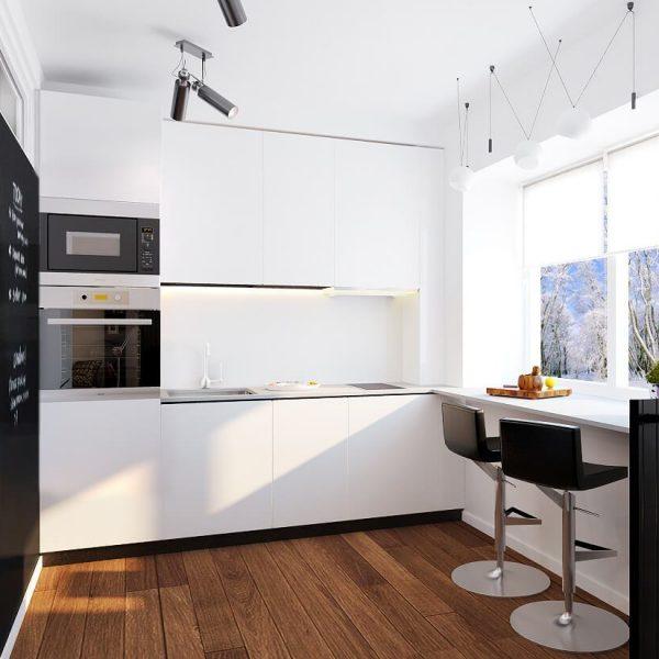 Кухня вашей мечты ТОП-6 планировок советы профессионалов выбор кухни поэтапно виды планировки кухни Однорядная планировка варианты исполнения фото