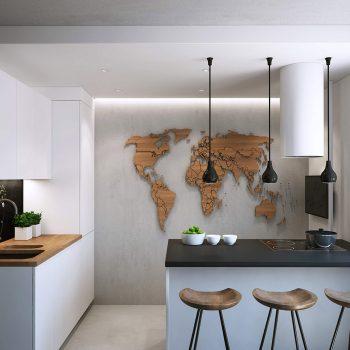 Кухня вашей мечты ТОП-6 планировок для кухни Полуостровная планировка кухни варианты исполнения фото