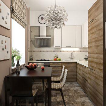 Топ-6 планировок для кухни Г-образная планировка кухни варианты исполнения современные тенденции фото