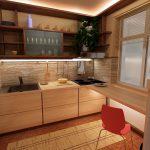 Кухня вашей мечты ТОП-6 планировок для кухни Интересные варианты планировки маленькой кухни задействовать подоконник фото
