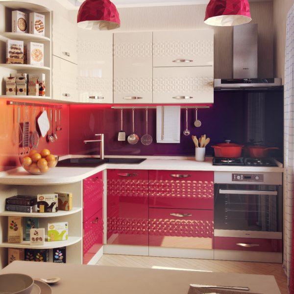 Угловая кухня типы планировок интерьерные решения фото