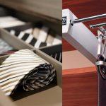 Наполнение шкафа купе фурнитура для шкафов купе открытые полки выдвижные ящики варианты наполнения советы профессионалов варианты размещения галстуков и ремней фото