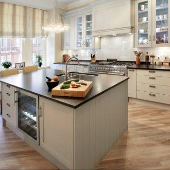 Кухня вашей мечты ТОП-6 планировок для кухниОстровная планировка кухни стиль кантри варианты исполнения фото