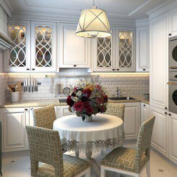 Кухня вашей мечты ТОП-6 планировок для кухни Г-образная планировка кухни варианты исполнения маленькая кухня фото