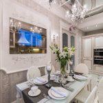 Кухня в классическом стиле, цветовое решение варианты исполнения свежие идеи фото