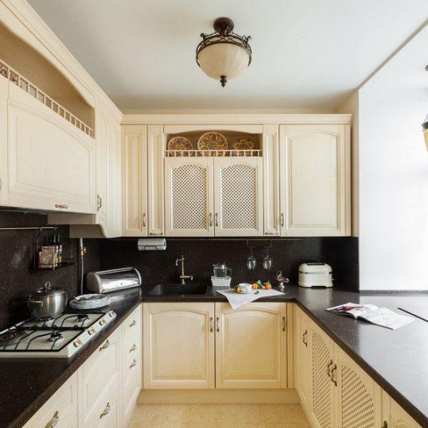 Кухня вашей мечты ТОП-6 планировок для кухни П-образная планировка кухни задействовать подоконник варианты исполнения фото