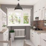 Кухня вашей мечты Фартук для кухни Кухонный фартук из керамической плитки полезные советы материалы характеристика размеры кухонного фартука кирпич фото
