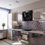 Кухня вашей мечты идеи Фартук для кухни Кухонный фартук из мозаики полезные советы материалы характеристика размеры кухонного фартука фото