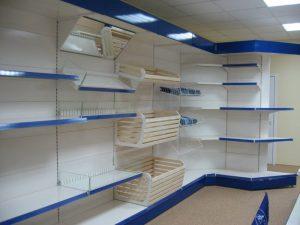 Торговая мебель в Томске от производителя. Торговые прилавки, торговые стеллажи, торговая мебель на заказ. Гарантия на торговую мебель.