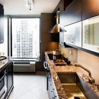 Кухня вашей мечты ТОП-6 планировок для кухни Двухрядная планировка кухни варианты исполнения свежие идеи фото
