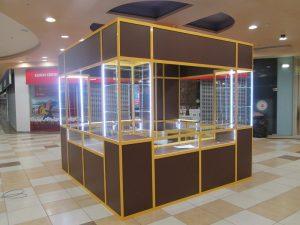 Торговая мебель в Томске от производителя. Торговые прилавки, торговые стеллажи, торговая мебель на заказ.
