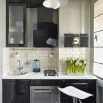 Кухня вашей мечты ТОП-6 планировок для кухни Интересные варианты планировки маленькой кухни черная кухня фото