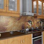 Кухня вашей мечты Фартук для кухни Кухонный фартук из мозаики полезные советы материалы характеристика размеры кухонного фартука животное фото